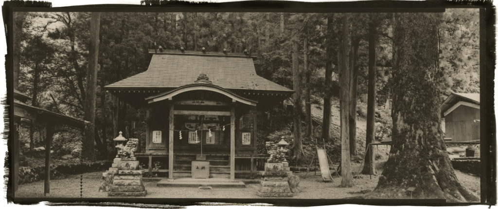 Mountain Shrine~Slide Hinohara, Japan_crop